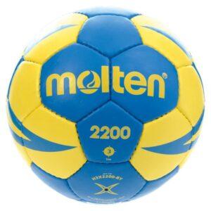 Molten® Bola de Andebol H3X2200 Couro Sintético (Tamanho 3)