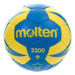 Molten® Bola de Andebol H2X2200 Couro Sintético (Tamanho 2)