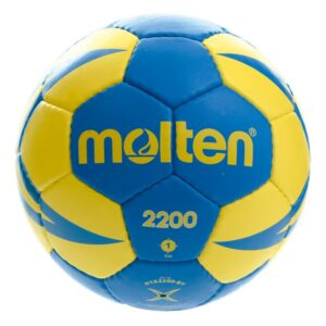 Molten® Bola de Andebol H1X2200 Couro Sintético (Tamanho 1)