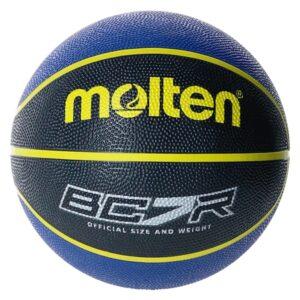 Molten® Bola de Basquetebol BC7R2-KB Borracha (Tamanho 7)