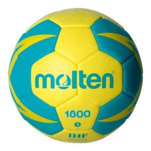 Molten® Bola de Andebol H3X1800-YG Couro Sintético (Tamanho 3)