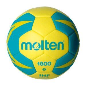 Molten® Bola de Andebol Molten H2X1800-YG Couro Sintético (Tamanho 2)