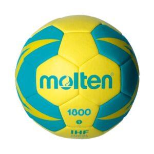 Molten® Bola de Andebol H1X1800-YG Couro Sintético (Tamanho 1)