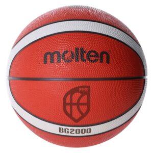 Molten® Bola de Basquetebol B3G2000 Borracha (Tamanho 3)