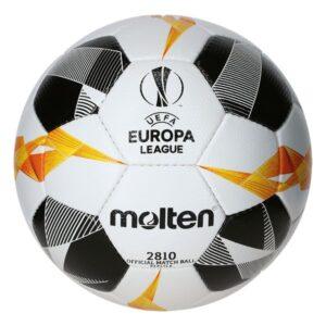 Molten® Bola de Futebol F5U2810-G19 UEL Branco Couro Sintético (Tamanho 5)