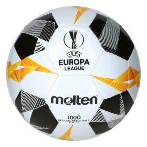 Molten® Bola de Futebol F5U1000-G19 UEL Branco TPU (Tamanho 5)