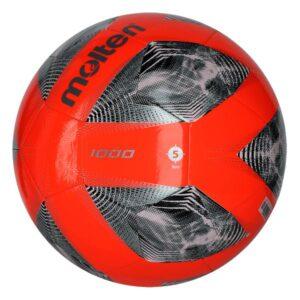 Molten® Bola de Futebol F5A1000 Laranja TPU (Tamanho 5)