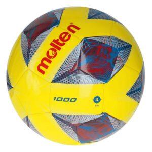 Molten® Bola de Futebol F4A1000 Amarelo TPU (Tamanho 4)