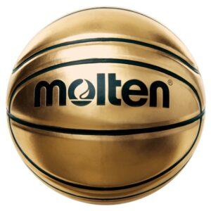 Molten® Bola de Basquetebol BGSL7  Ouro Couro Sintético (Tamanho 7)