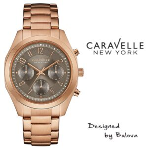 Relógio Caravelle New York® 44L198 - Designed by Bulova