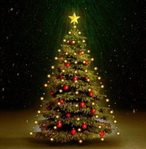 Cordão de luzes para árvore de Natal 210 LED IP44 210 cm - PORTES GRÁTIS