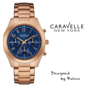 Relógio Caravelle New York® 44L199 - Designed by Bulova