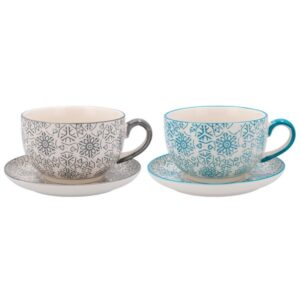 Conjunto de 2 Chávenas Quid Vita Porcelana 0,3L