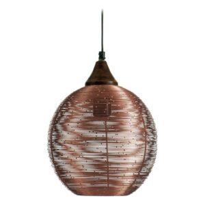 Candeeiro de teto Gift Decor Metal Cobre 22 x 28 x 22 cm