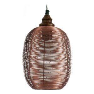 Candeeiro de teto Gift Decor Metal Cobre 19 x 30 x 19 cm
