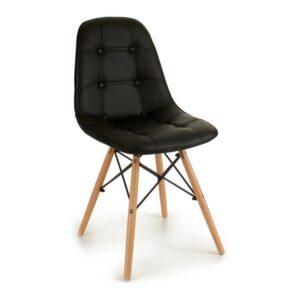 Cadeira de Sala de Jantar Gift Decor (56 x 85 x 43 cm) Preto