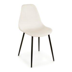 Cadeira de Sala de Jantar Gift Decor Plástico Madeira (52 x 84 x 46 cm) Branco