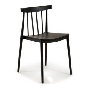 Cadeira de Sala de Jantar Gift Decor Plástico (49 x 77,5 x 45 cm) Preto