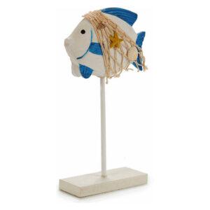 Figura Decorativa Gift Decor Madeira (14 x 24,5 x 5 cm)