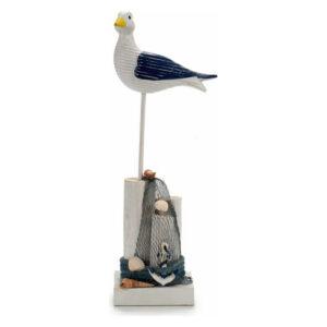 Figura Decorativa Gift Decor Madeira (14 x 36 x 8 cm)