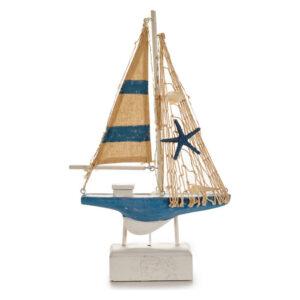 Barco Gift Decor Madeira (5,5 x 31,5 x 19 cm) Luzes LED