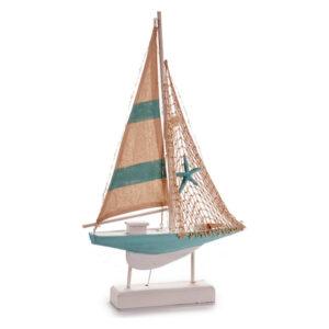 Barco Gift Decor Madeira (6 x 56,5 x 35,5 cm) Luzes LED