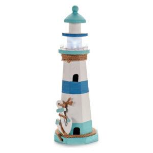Figura Decorativa Gift Decor Madeira (14,5 x 44 x 14,5 cm) Luzes LED