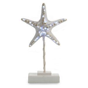 Figura Decorativa Gift Decor Madeira (6 x 35,5 x 20,5 cm) Luzes LED