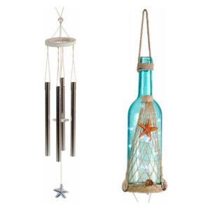 Decoração Suspensa Gift Decor Cristal (9 x 90 x 9 cm) Luzes LED