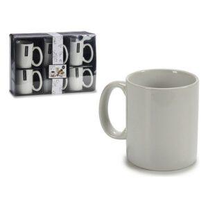 Conjunto de6 Chávenas Porcelana (8 x 9,6 x 12 cm)