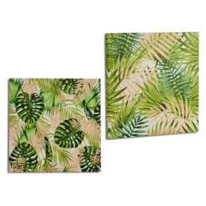 Quadro Gift Decor Verde (28 x 28 x 1,5 cm)