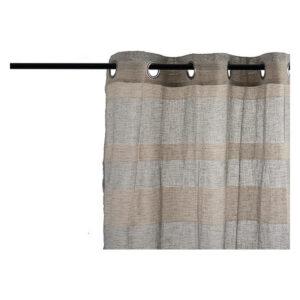 Cortinas Gift Decor Bege (260 x 1 x 140 cm)
