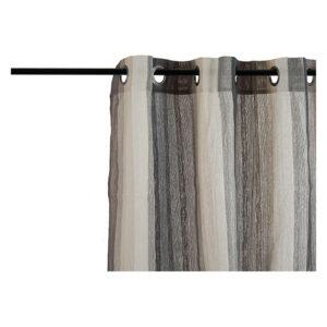 Cortinas Gift Decor Cinzento (260 x 1 x 140 cm)