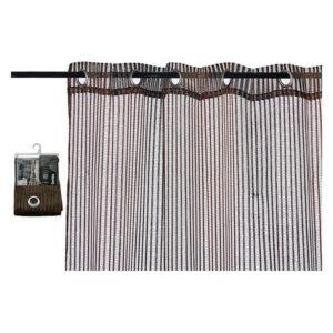 Cortinas Gift Decor (1 x 260 x 140 cm) Castanho