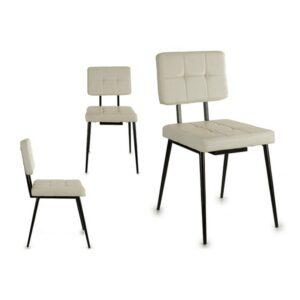 Cadeira de Sala de Jantar Gift Decor Couro (58 x 87 x 43,5 cm)