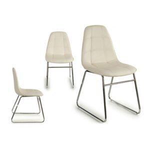 Cadeira de Sala de Jantar Gift Decor (58 x 84,5 x 45 cm) Branco