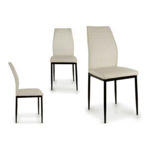 Cadeira de Sala de Jantar Gift Decor Metal (53 x 97 x 42 cm) Branco
