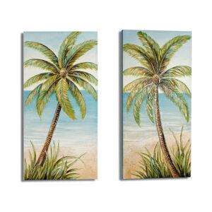 Quadro Gift Decor Palm Tree (3 x 120 x 60 cm)