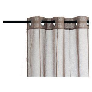 Cortinas Gift Decor (260 x 140 cm) Castanho