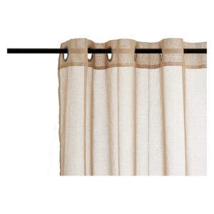 Cortinas Gift Decor Bege (260 x 140 cm)