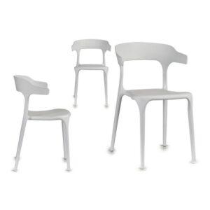 Cadeira de Sala de Jantar Gift Decor (42 x 77 x 47 cm) Branco