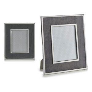 Porta-retratos Gift Decor Cinzento Veludo (1 x 30,8 x 25,8 cm)