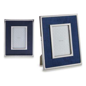 Porta-retratos Gift Decor Azul Veludo (1 x 24,8 x 19,8 cm)