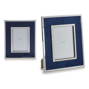 Porta-retratos Gift Decor Azul Veludo (1 x 28,3 x 23,3 cm)