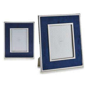 Porta-retratos Gift Decor Azul Veludo (1 x 30,8 x 25,8 cm)