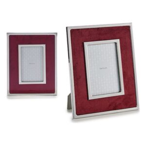 Porta-retratos Gift Decor Veludo Grená (1 x 24,8 x 19,8 cm)
