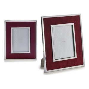 Porta-retratos Gift Decor Veludo Grená (1 x 28,3 x 23,3 cm)
