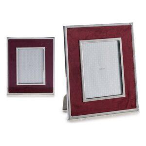 Porta-retratos Gift Decor Veludo Grená (1 x 30,8 x 25,8 cm)