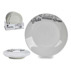 Plat bord Porcelana Ø 24,5 cm