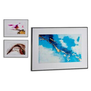 Quadro Gift Decor Preto Madeira (11 x 71,5 x 51,5 cm)
